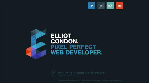 İlham Veren 23 Etkileyici Koyu Website Tasarımı