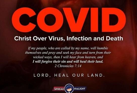 Coronavirus: 2 chronicles 7:14   Ladun Liadi's Blog