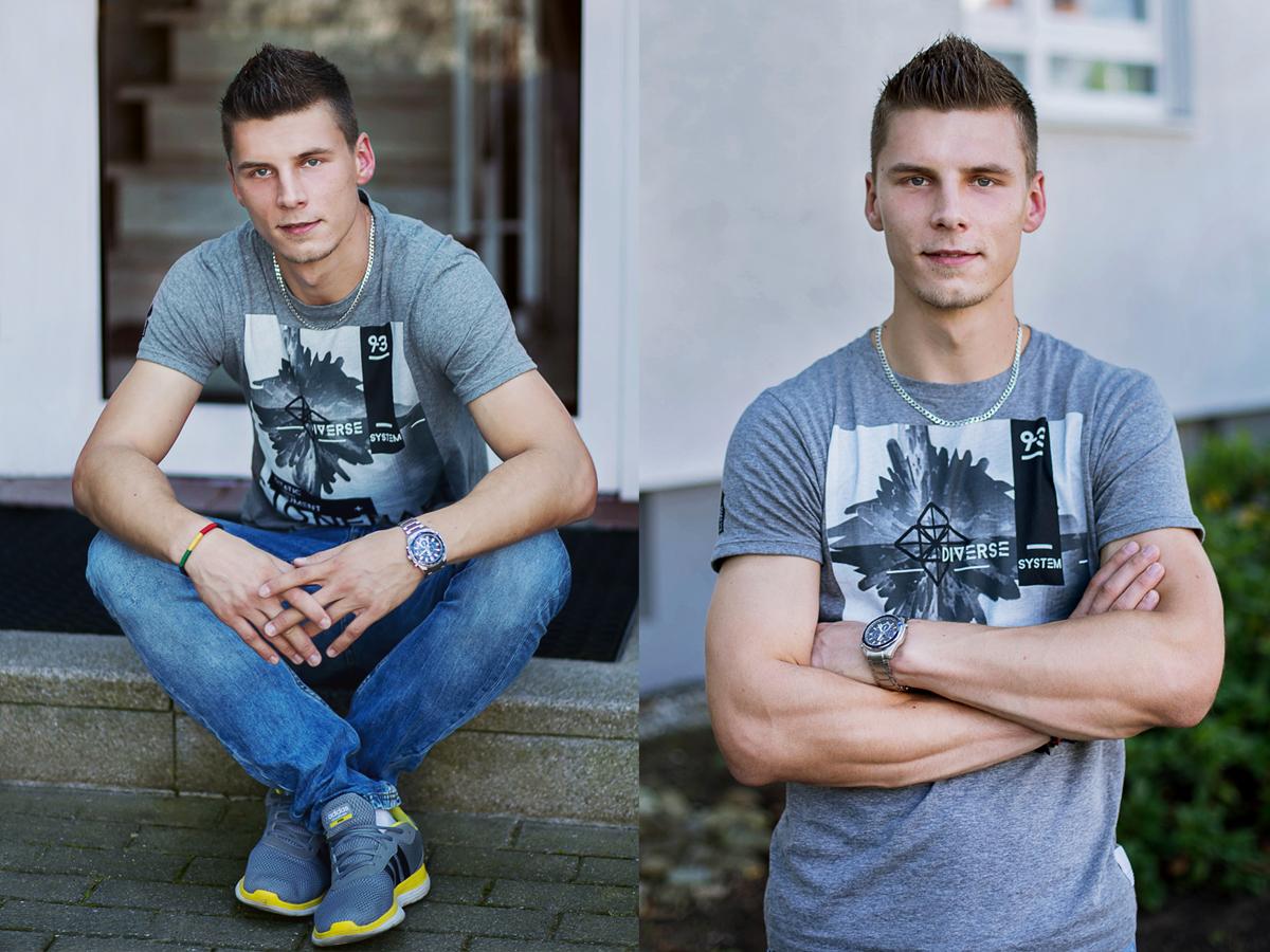 portret, polski chlopak, zdjecie, foto, model, fashion
