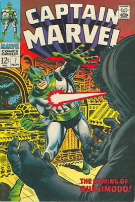 Captain Marvel #7, Quasimodo