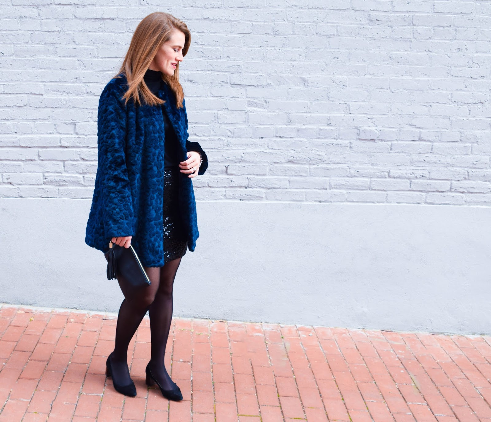 An Outfit in Navy and Black