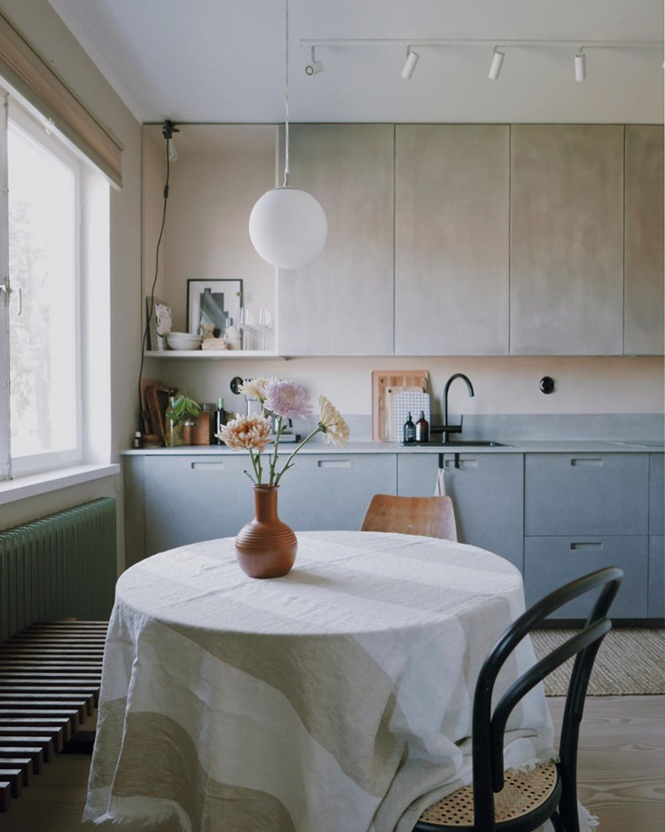 Cool Colour Ideas From The Home Of A Swedish Set Designer