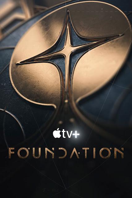 Cartel de 'Foundation' (La fundación), adaptación de Apple Tv+ de la saga de Isaac Asimov
