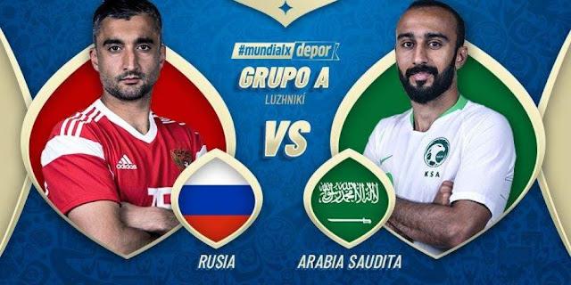 Rusia vs. Arabia Saudita