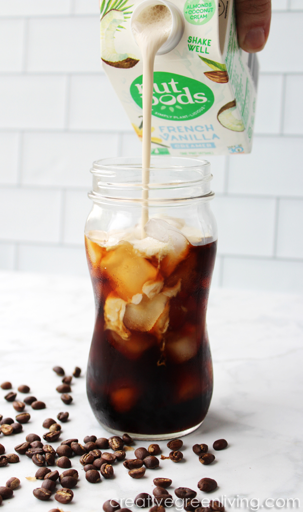 Dairy free keto iced latte recipe