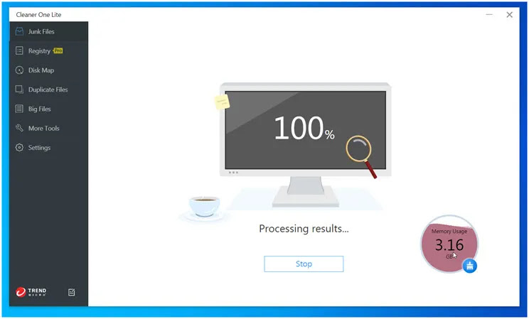 Cleaner One Lite PC Cleaner : Δωρεάν εφαρμογή που βοηθά στην ασφαλή αφαίρεση των άχρηστων αρχείων
