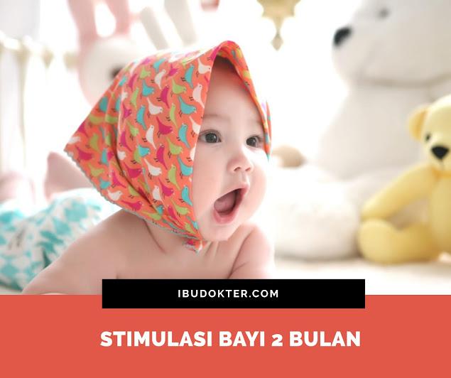 Stimulasi Bayi 2 Bulan