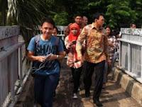 Adu Mulut Tukang Ojek dan Timses Warnai Blusukan Ahok di Lenteng