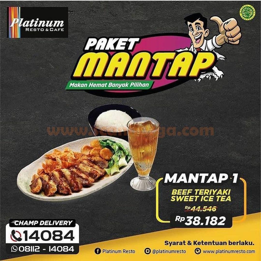 PLATINUM RESTO Promo Harga Spesial Paket MANTAP