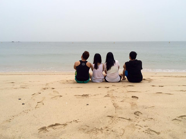 Summer MUD-ness and SHELL-fie at Daecheon Beach (대천해수욕장)