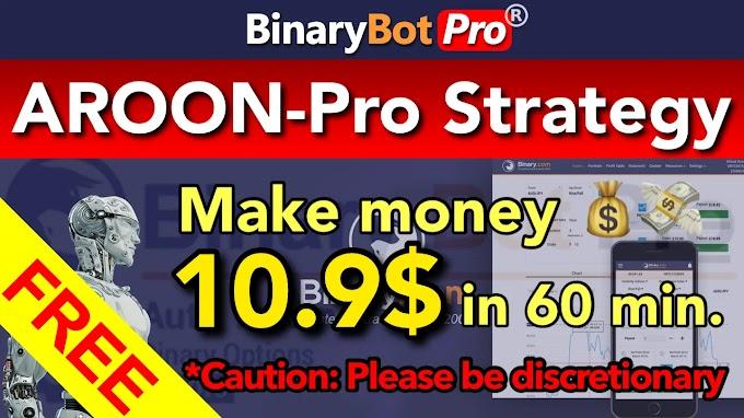 AROON-Pro Strategy   Binary Bot Pro