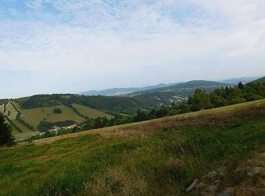 Widok w kierunku Gór Kamiennych.
