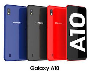 handphone samsung galaxy a10