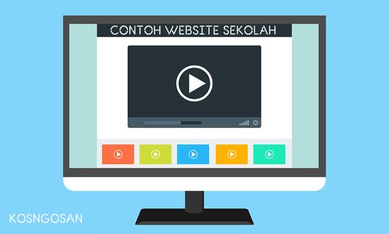 contoh website sekolah