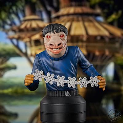 Gentle Giant Star Wars A New Hope Blue Snaggletooth 6th Scale Mini-Bust 03