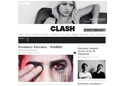 """Wildlife"" video premieres at Clash Music"