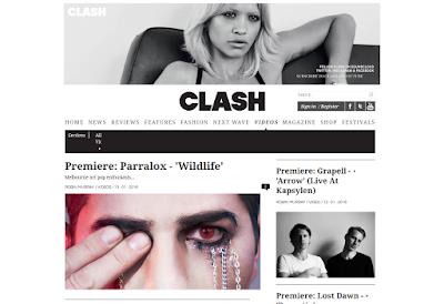 """Wildlife"" video premieres at Clash Music"