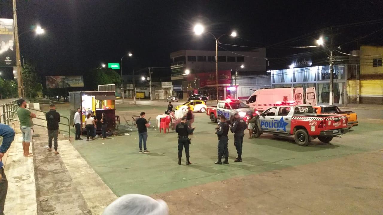 Chapeiro é morto a tiros na Praça de Eventos em Parauapebas