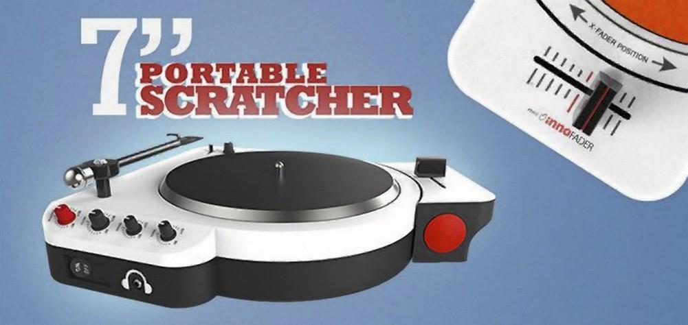 Tech : Scratcher portable pour 45T commercial