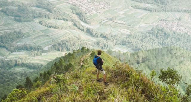 6 gunung untuk pendakian pemula di Jawa Tengah