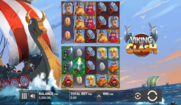 Main Gratis Slot Indonesia - Viking Clash Push Gaming