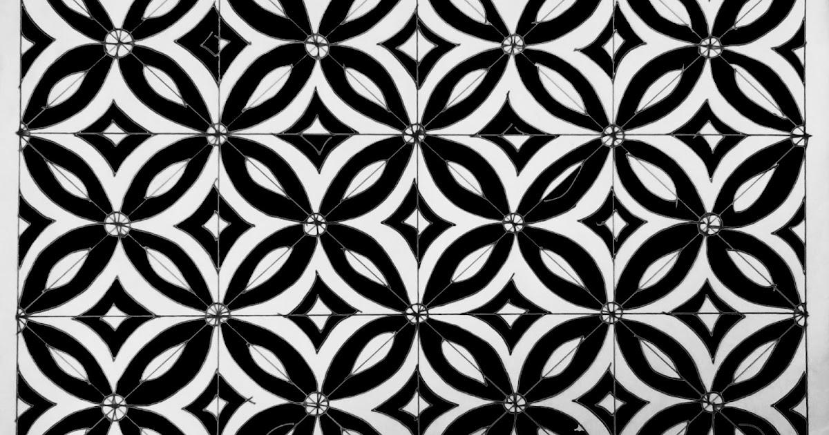 Menggambar Motif Batik Geometris Em Sholikhan Blog Desain Grafis Seni Dan Kaligrafi
