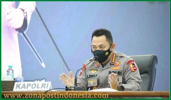 Kapolri Jenderal Listyo Sigit Prabowo, Meminta Forkopimda Kalbar Untuk Memaksimalkan Penggunaan Fasilitas Isolasi Terpusat (Isoter)