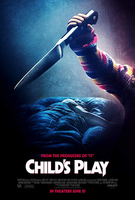 Movie poster for Orion Pictures and Bron Creative's latest horror movie Child's Play