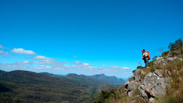 A caminho do Pico da Mutuca. (Foto: Reprodução/Guia Chapada Diamantina)