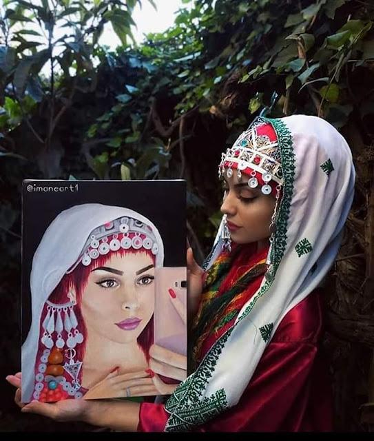 اللباس التقليدي المغربي  السوسي الأمازيغي الاصيل :