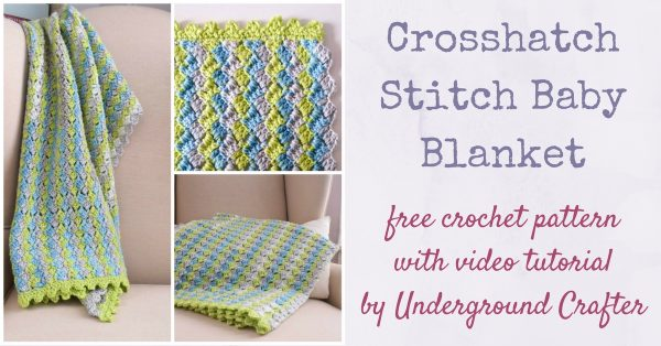 X Stitch Crochet Baby Blanket Pattern : Amys Crochet Creative Creations