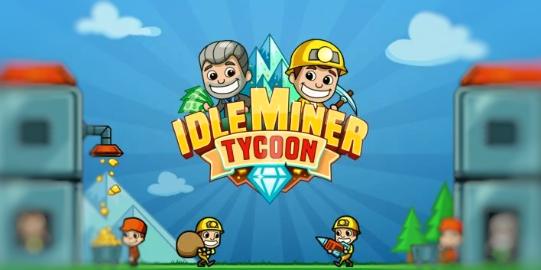 تنزيل لعبة Idle Miner Tycoon اخر اصدار مهكرة للاندرويد