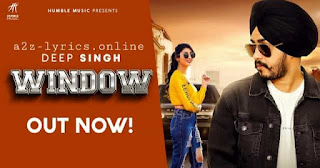 विंडो Window Lyrics in Hindi - Deep Singh