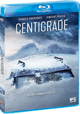 Cover art for Scream Factory's new Blu-ray of CENTIGRADE!