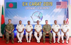 2- Biggest US-Bangladesh Navy exercise starts in Chattogram