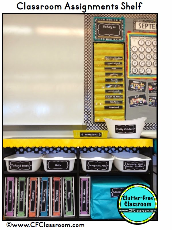 Learn how to easily collect student work in your classroom using turn in bins for each subject. These classroom organization and management tips will save you time and make you a more organized teacher.
