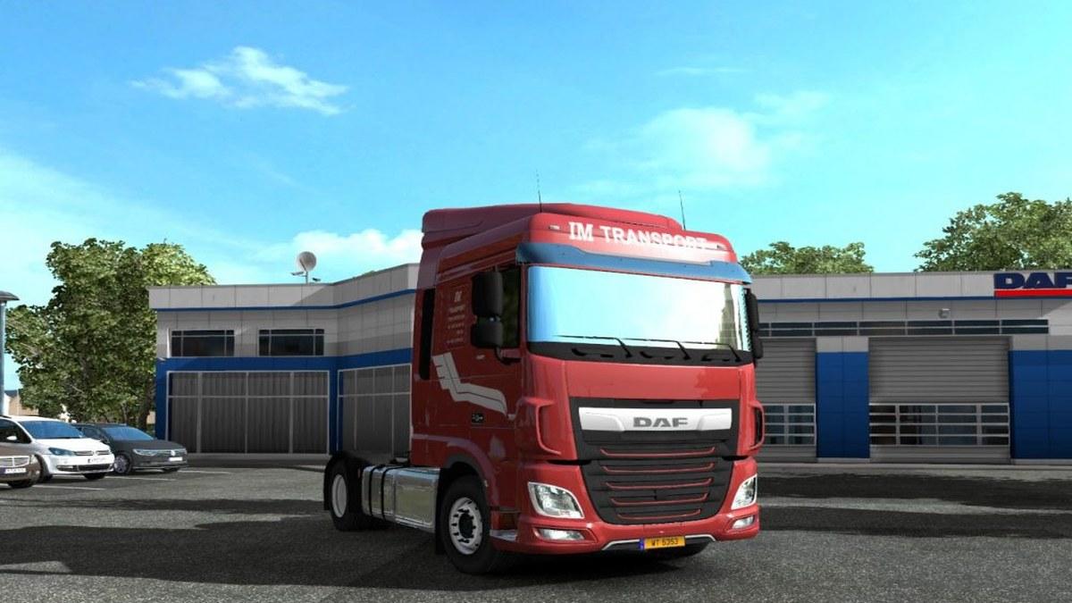 DAF E6 IM Transport Skin