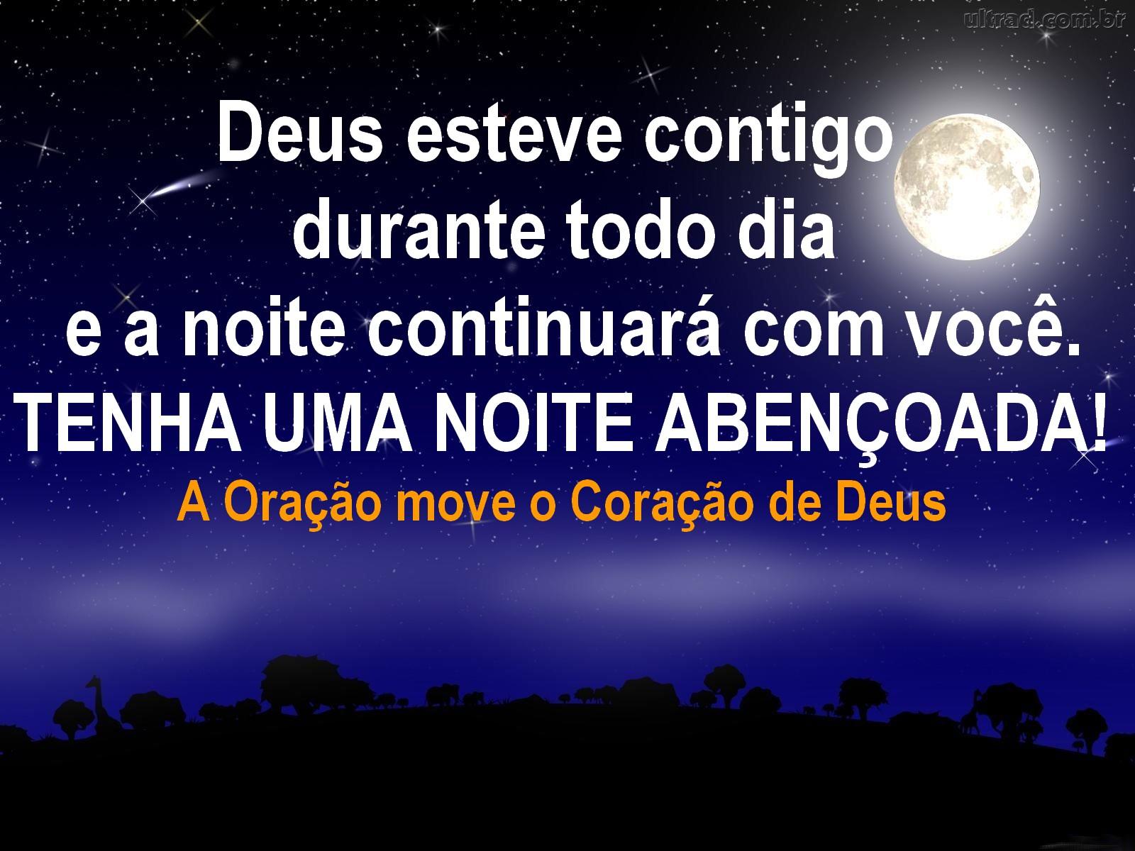 Boa Noite Deus: A Oração Move O Coração De Deus: Boa Noite Para WhatsApp