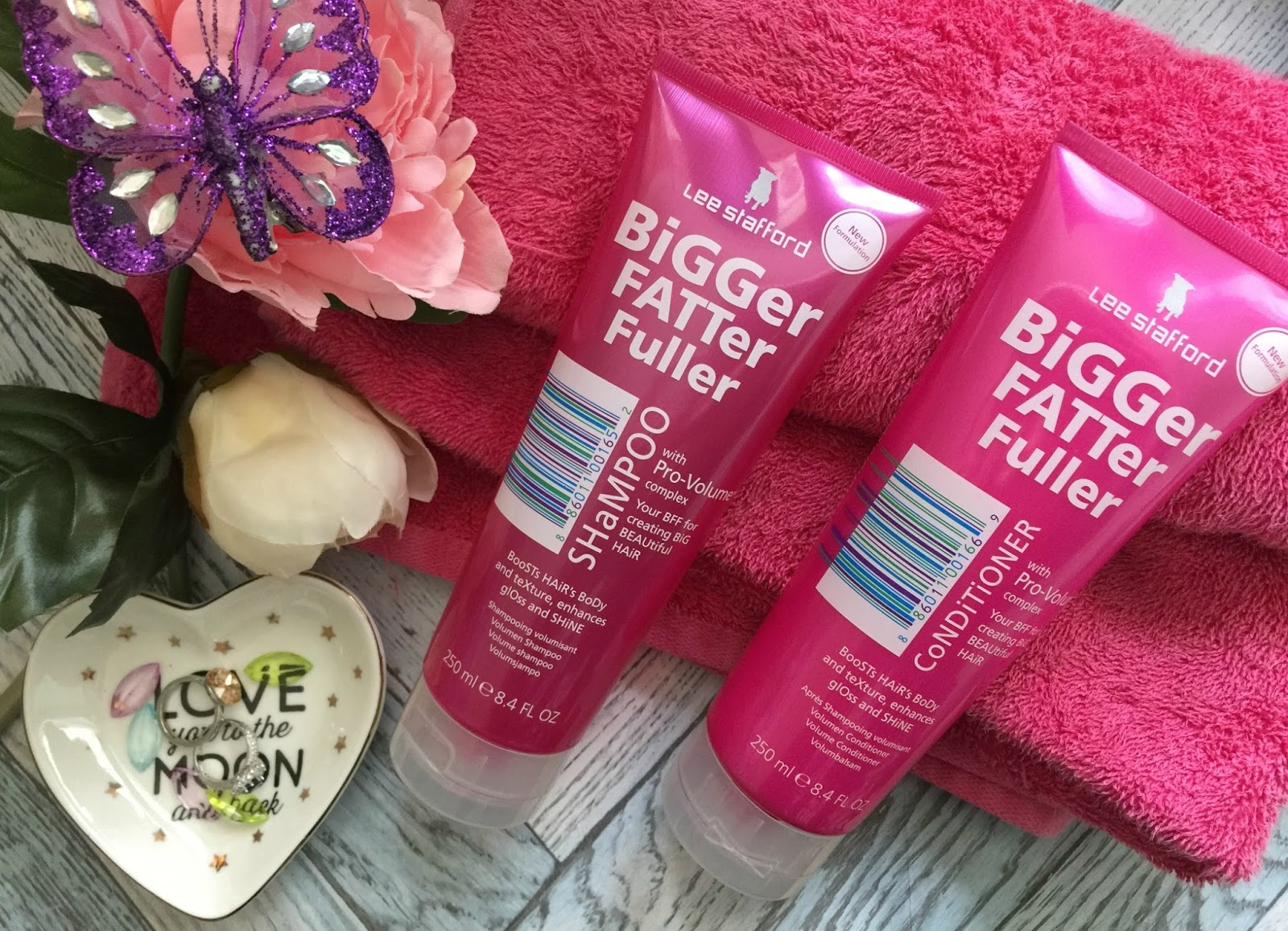 lee stafford bigger fatter fuller range review
