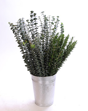 Rosemary used form floral flower bouquets