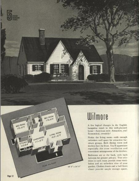 1940 Sears Wilmore catalog image