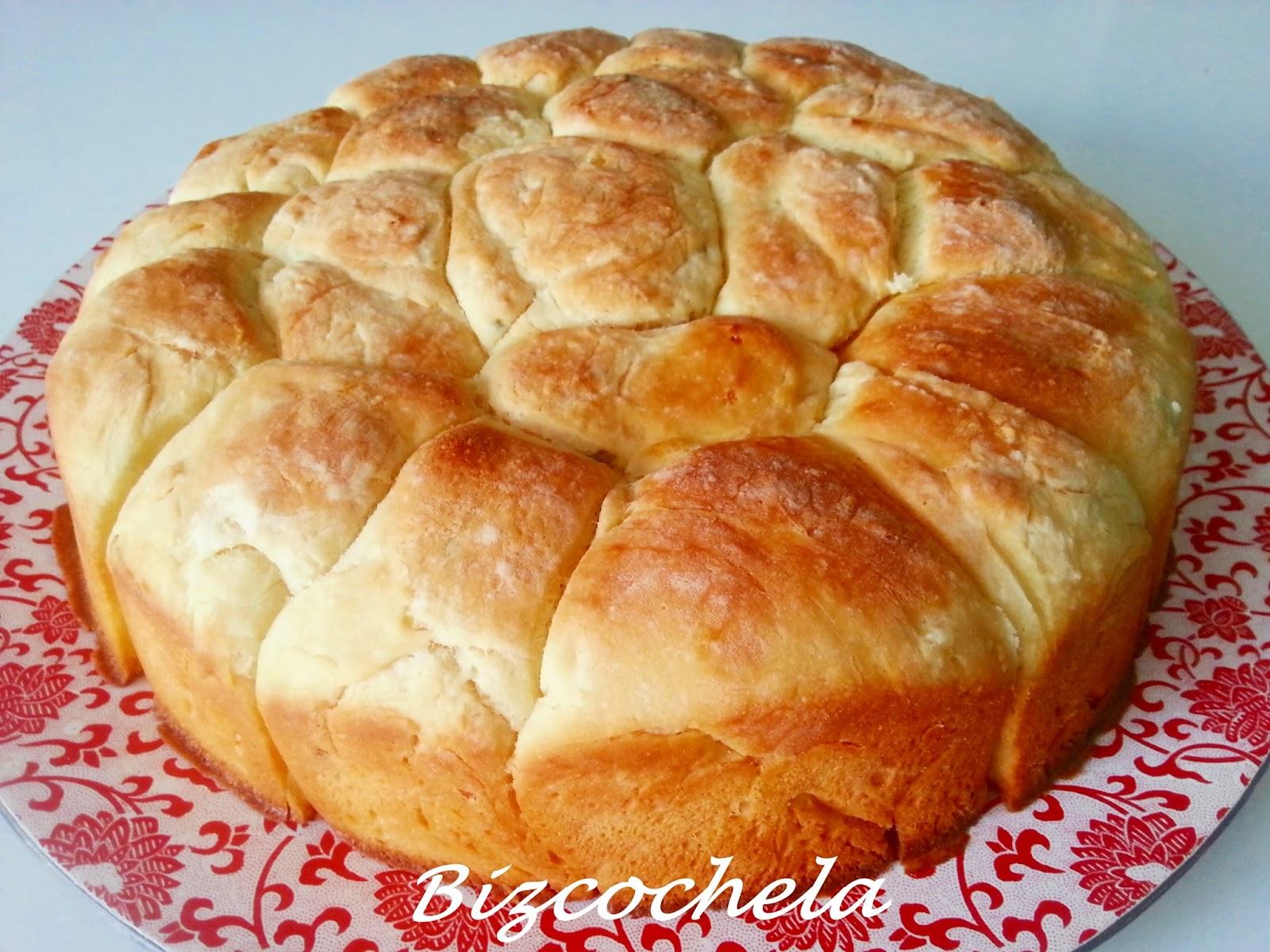 MONKEY BREAD, PAN DE MONO  DE PATATA