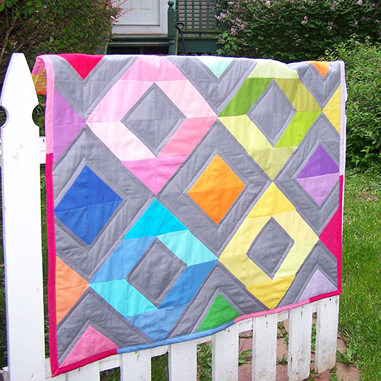 Diamonds Mini Quilt