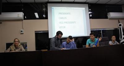 Jovens vereadores tomam posse na Câmara Municipal de Registro-SP