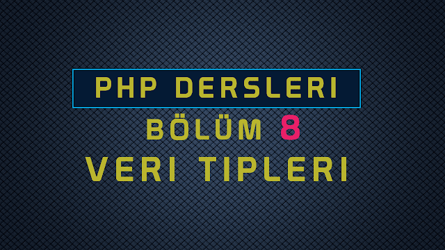 phpde integer float boolen vs kullanımı