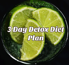 3 Day Detox Diet Plan