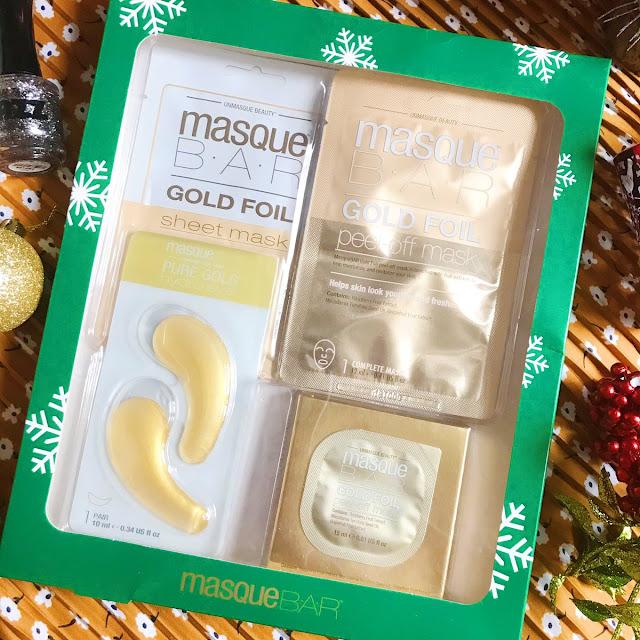 MasqueBAR Gold Foil Gift Set