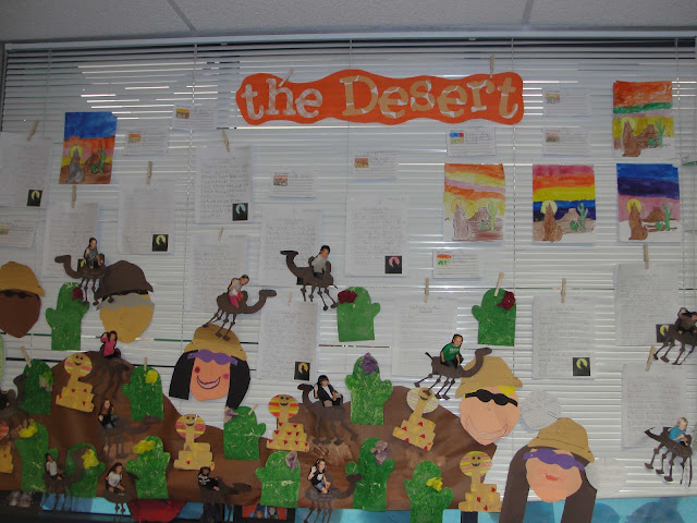 desert habitat crafts and ideas