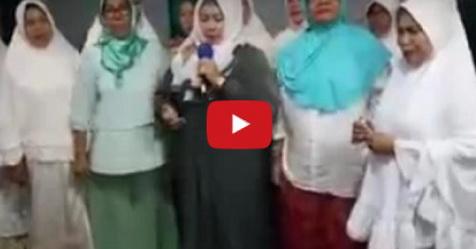 VIDEO: Para Muslim Pendukung Ahok Satu Persatu Bertaubat Pasca Aksi 212