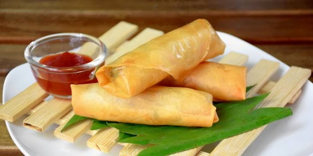 Spring Rolls Recipe in Hindi